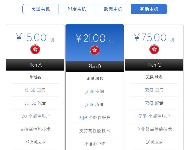 备案香港虚拟主机需求怎样选择