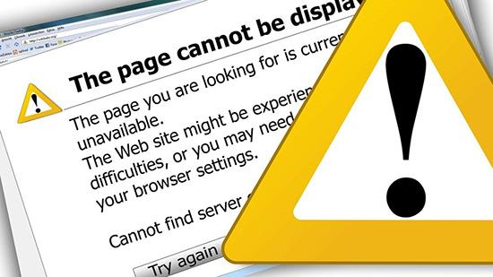 6大技巧避免网站错误