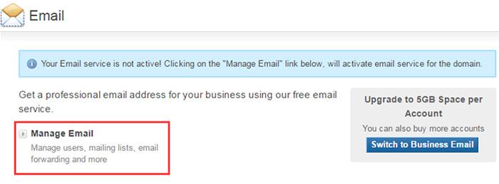bluehost管理邮箱的教程介绍