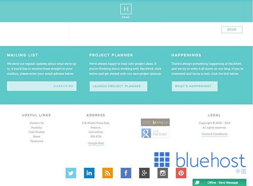 网页页脚如何设计更有竞争力