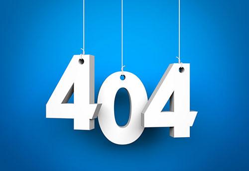 网站出现404错误时应如何处理?