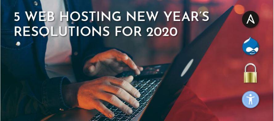 2020年美国虚拟主机五个新年决议
