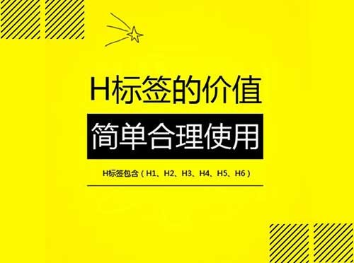 网站SEO优化:H标签的重要性及优化方法