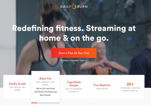 Daily Burn网站