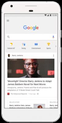 谷歌宣布推出类似Facebook的新闻Feed