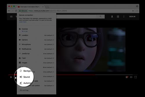 """谷歌浏览器推出""""永久静音""""功能"""