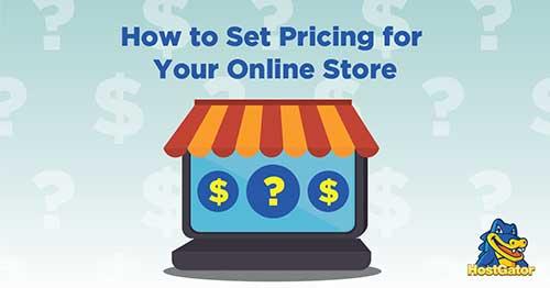 网店商品定价的方法
