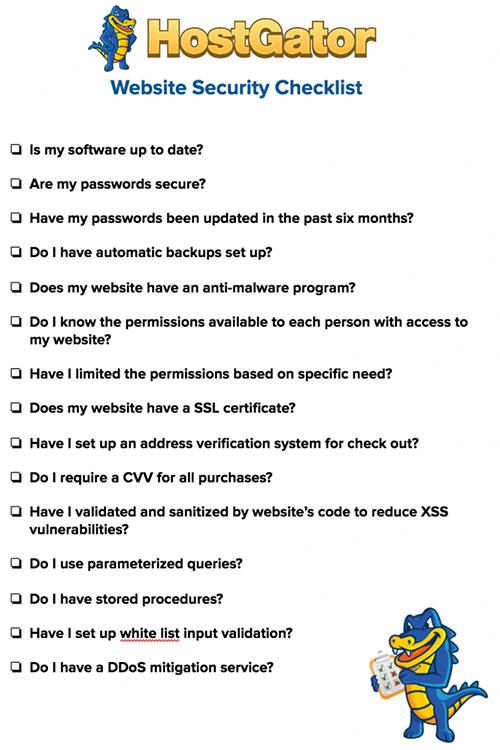 加强网站安全性