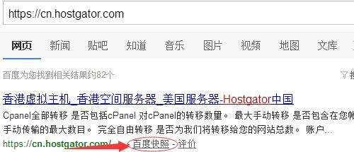在搜索框输入网站网址