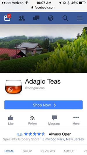 Adagio的Facebook封面图
