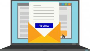 在邮件签名栏添加评论网站链接