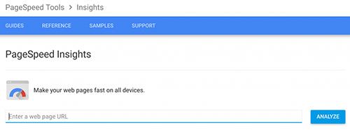 谷歌网页加载速度测试