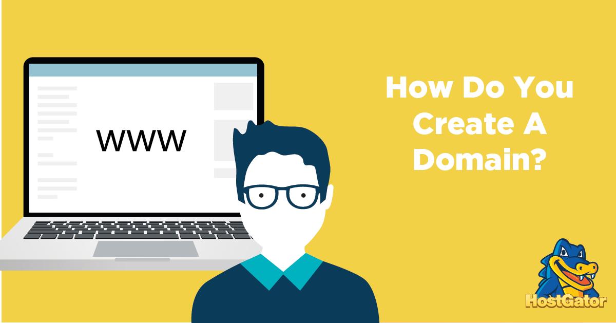 如何创建域名