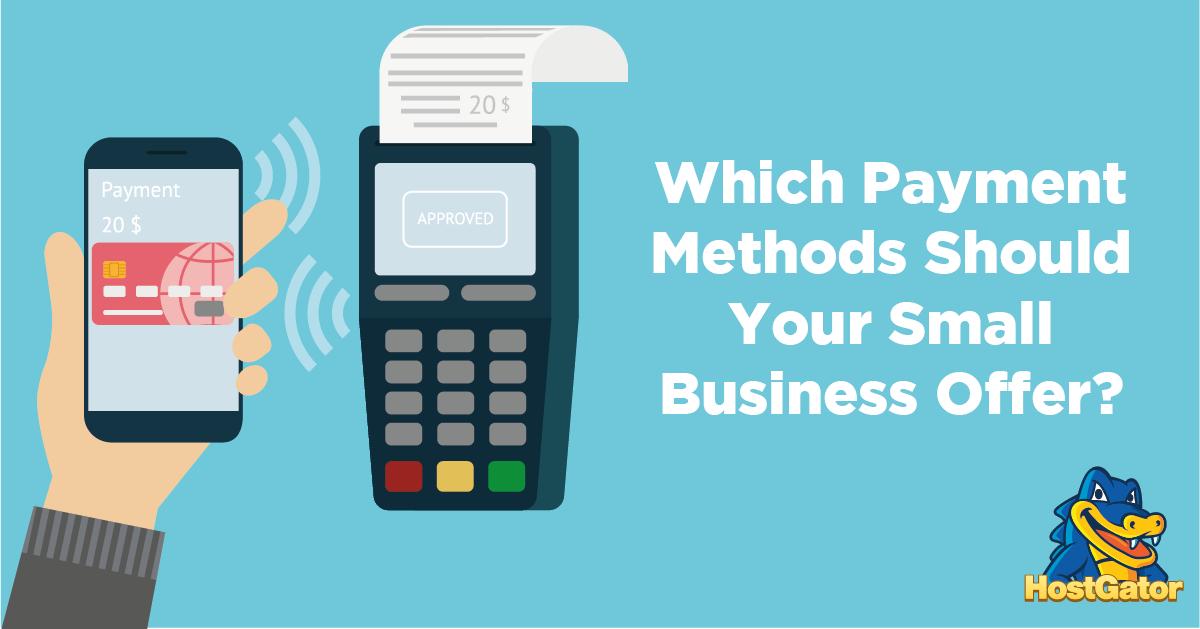 小型企业应该选择哪种支付方式