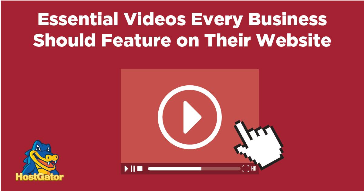 每个企业网站上都应该有的七个视频