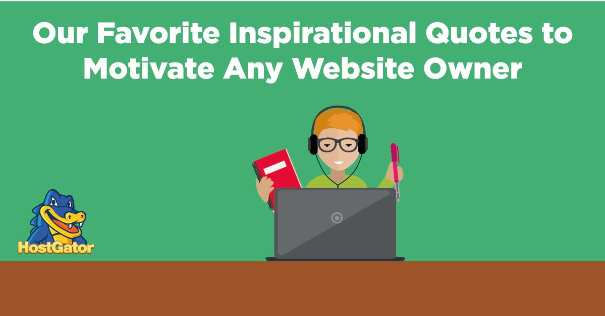 关于博客、网站和在线创业的励志名言