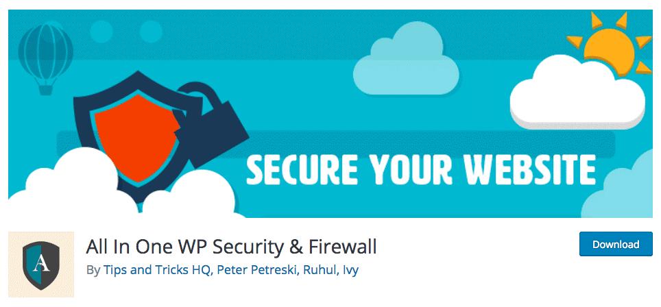 五个比较受欢迎的WordPress安全插件