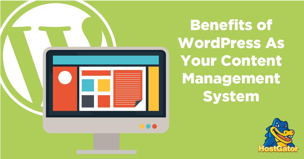 WordPress作为内容管理系统的优势